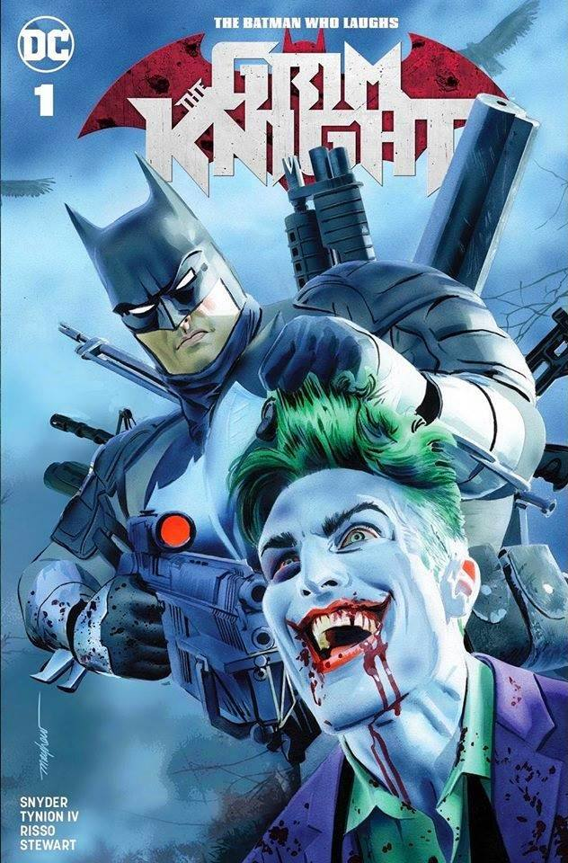 Batman Who Laughs: Grim Knight #1 Mike Mayhew Variant
