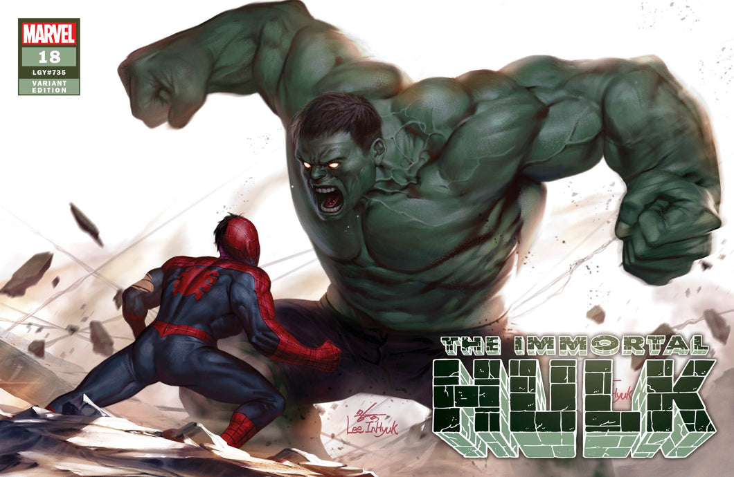 Immortal Hulk #18 InHyuk Lee Variant