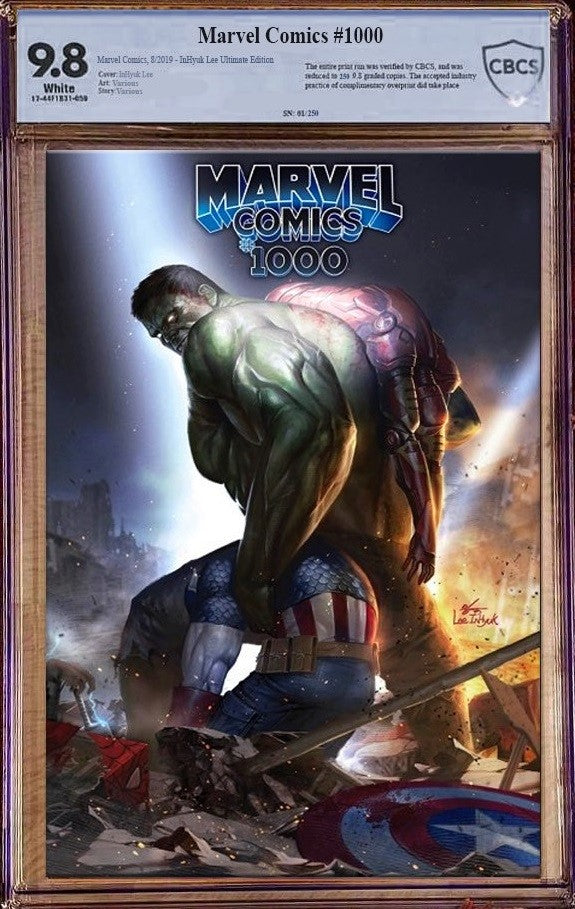 Marvel Comics #1000 InHyuk Lee Ultimate Edition