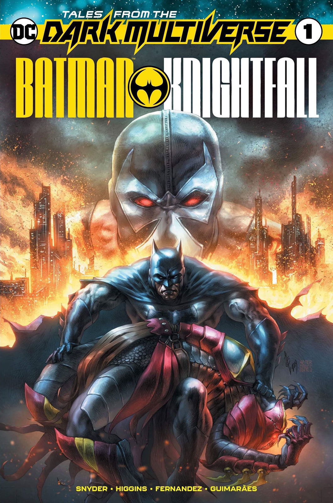 Batman: Knightfall #1 Alan Quah Variant - First Son of Bane!