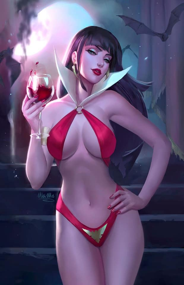 Vengeance of Vampirella #1 Ula Mos Virgin Variant