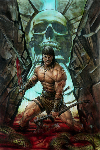 Conan the Barbarian #1 Ratio Variants