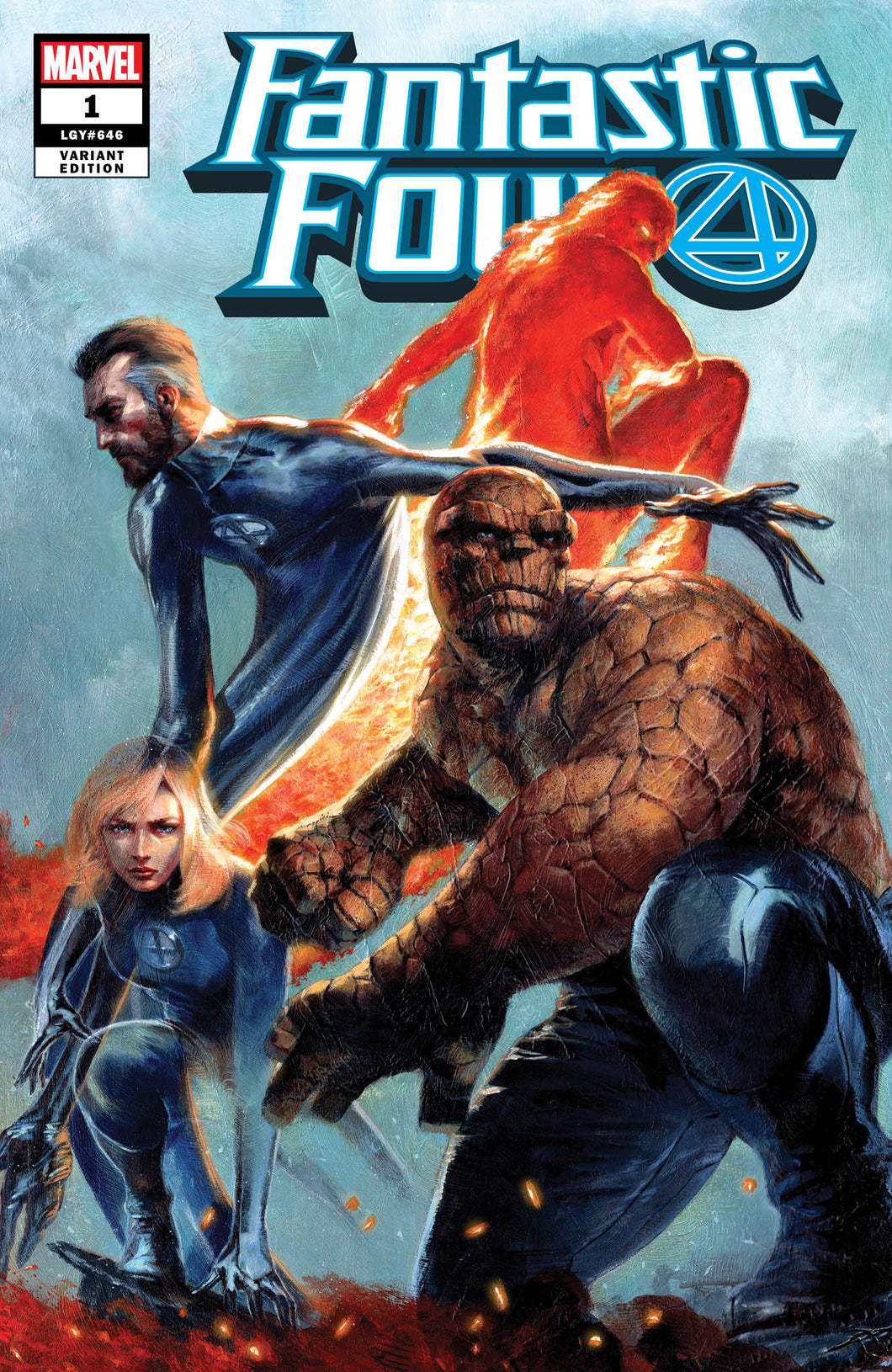 Fantastic Four #1 Dell'Otto Variant