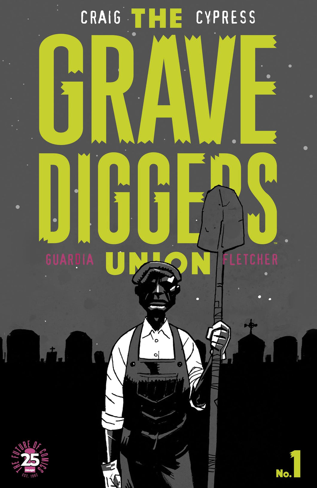 The Gravedigger's Union #1 - Image Exclusive Variant
