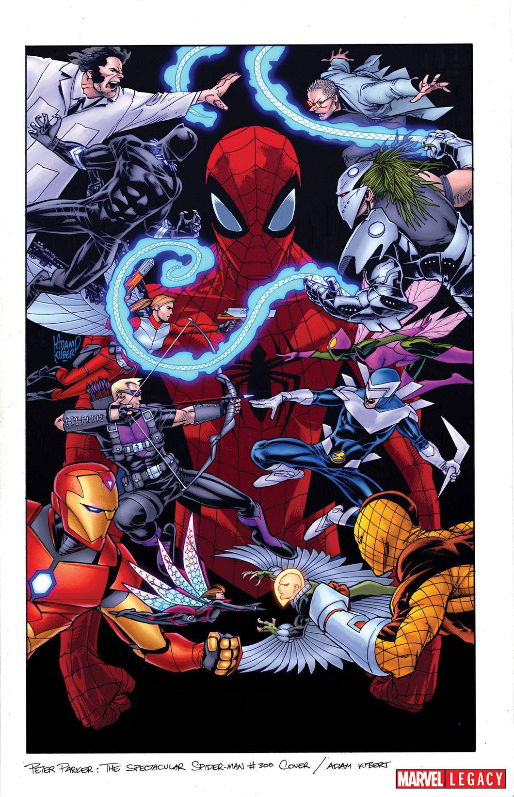 Spectacular Spider-Man #300 Ratio Variants