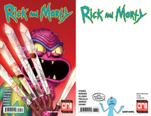 Rick & Morty #38 Mike Vazquez Hulk 340 Homage Variant