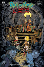 Rick & Morty vs Dungeons & Dragons #4 Ratio Variants