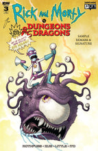 Rick & Morty vs Dungeons & Dragons #3 Mike Vasquez Exclusive - LTD 500
