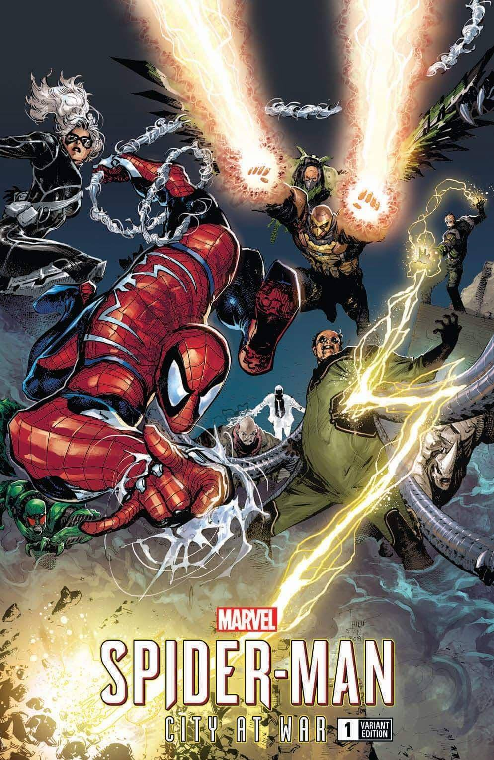 Spider-Man: City at War #1 Tan Variant