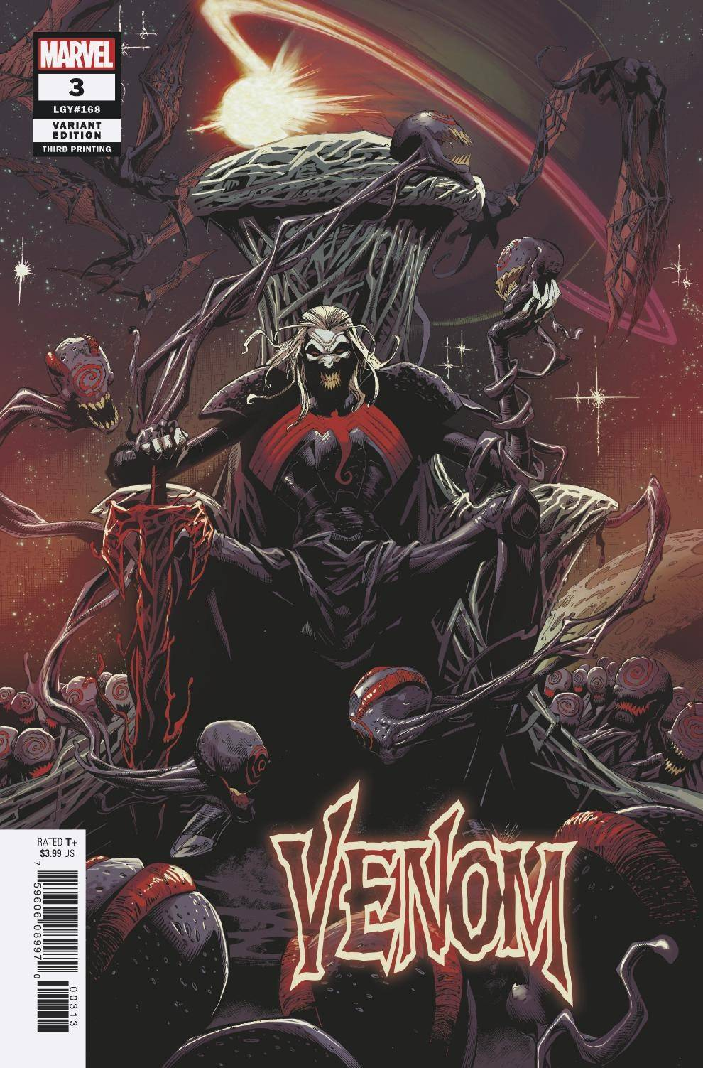 Venom #3 3rd Print - First Knull Appearance and Cover