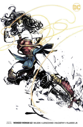 Wonder Woman #63 Shirahama