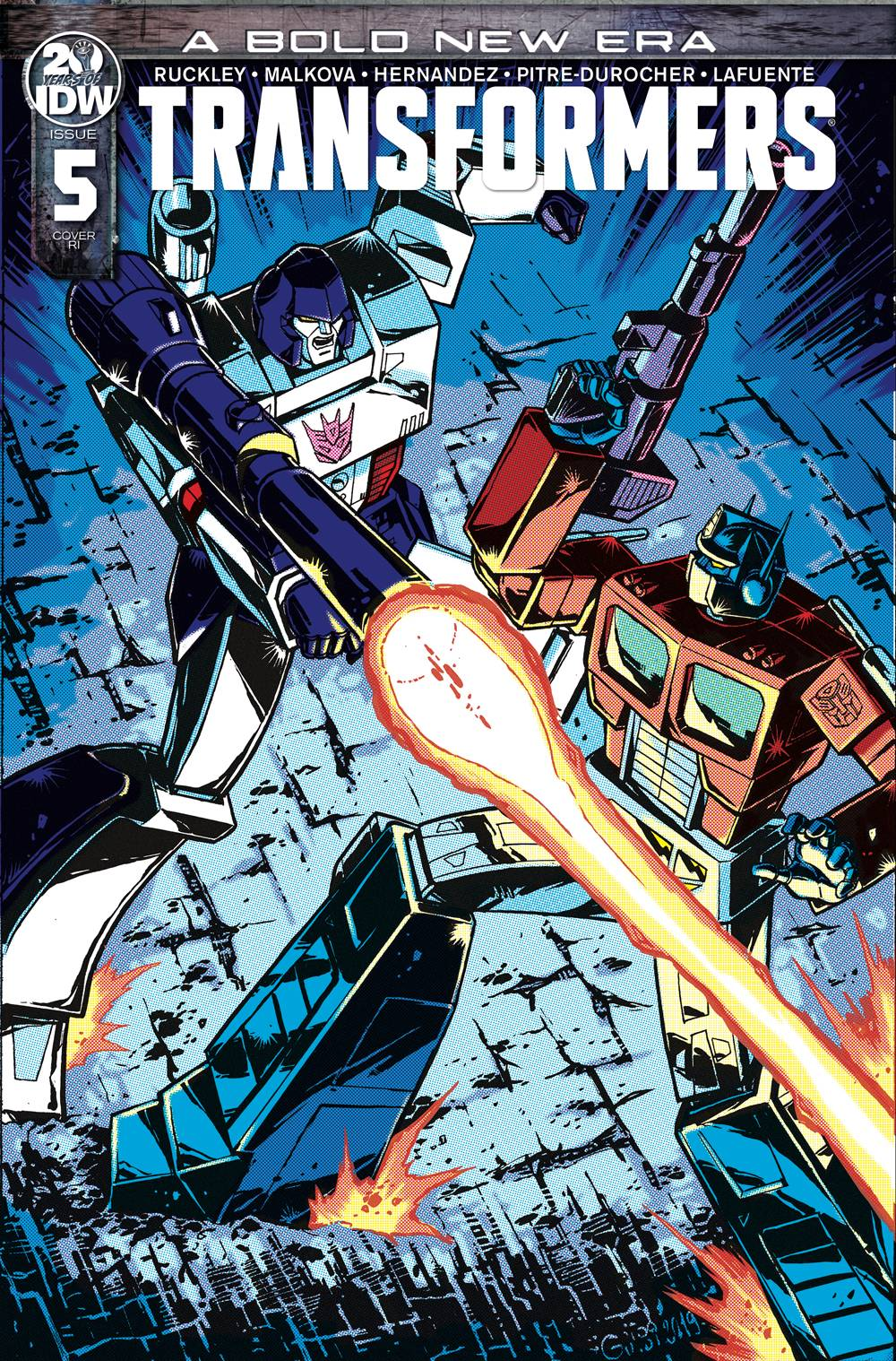 Transformers #5 1:10 Variant
