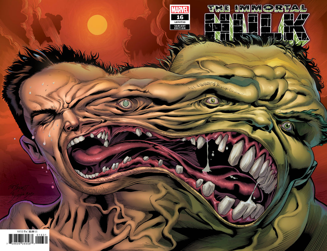 Immortal Hulk #16 2nd Print 1:25 Variant