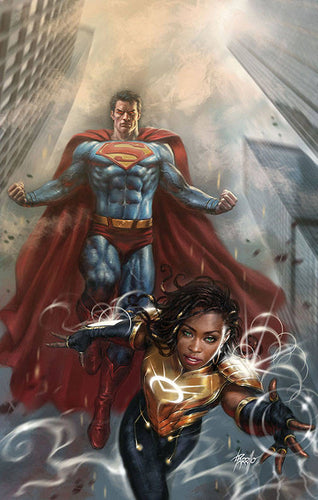 Action Comics #1015 Parrillo Variant - Naomi, Superman, and Batman!
