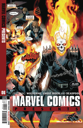 Marvel Comics Presents #6 2nd