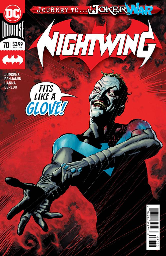 Nightwing #70 2nd Print