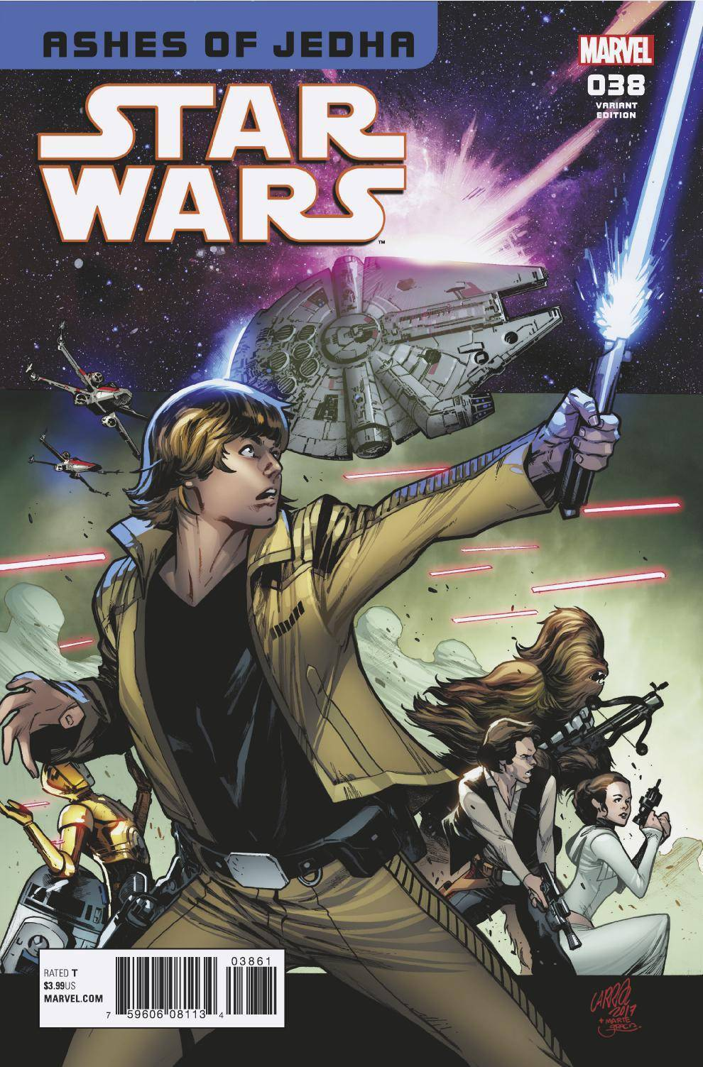 Star Wars #38 1:25 Ratio Variant