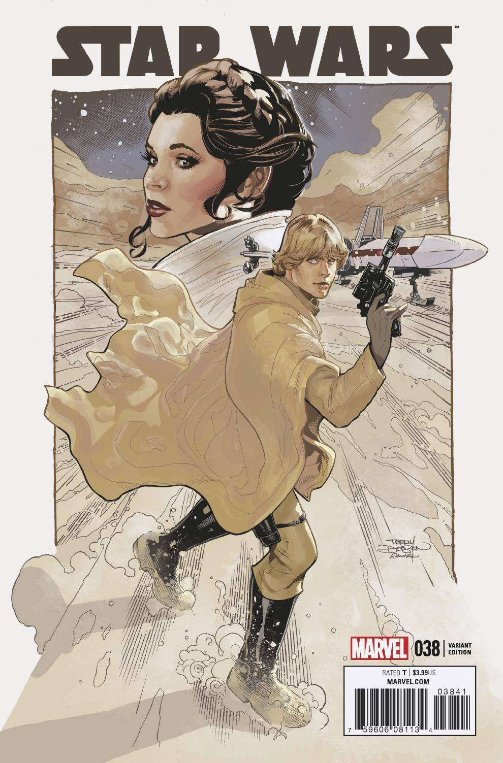 Star Wars #38 1:50 Dodson Ratio Variant
