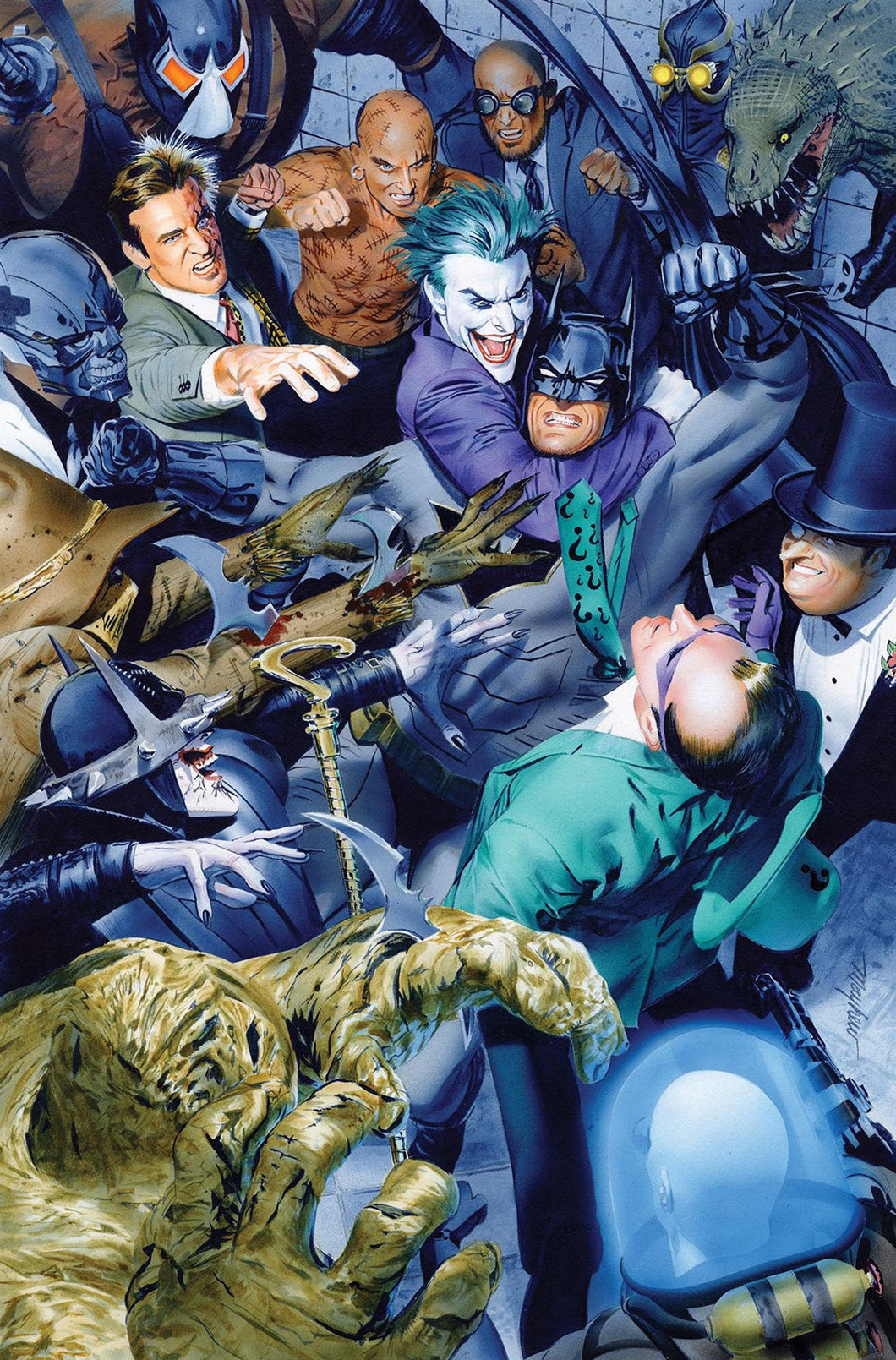 Detective Comics #1000 Mike Mayhew Trade Variant