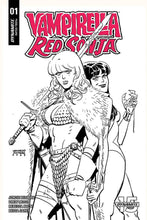 Vampirella Red Sonja #1 Ratio Variants