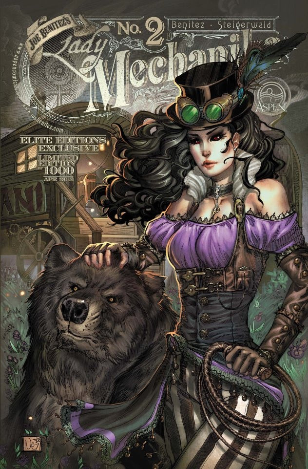 Lady Mechanika #2 Elite Editions - Limited to 1000 copies