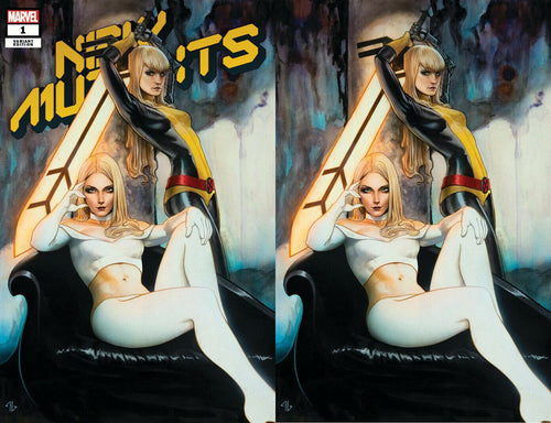 New Mutants #1 Adi Granov Variants