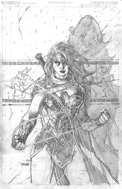 Wonder Woman #750 1:100 Jim Lee Sketch