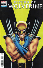 Return of Wolverine #1 Ratios
