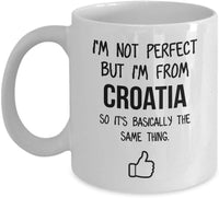 Croatia Mug Country Hometown Gift For Friends Dad Home Country Mug Wife Gift Husband Coffee Mug -11oz