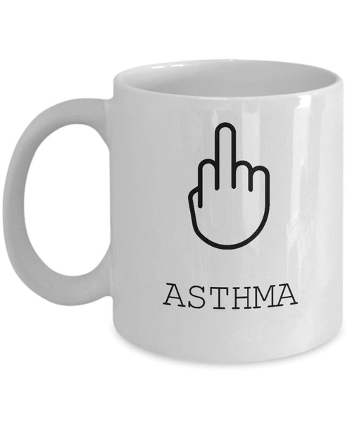 Asthma Mug, Survivor Gift, Gift For Her, Patient Gift, Gift For Him, Illness Mug, Gift For Survivor -11oz