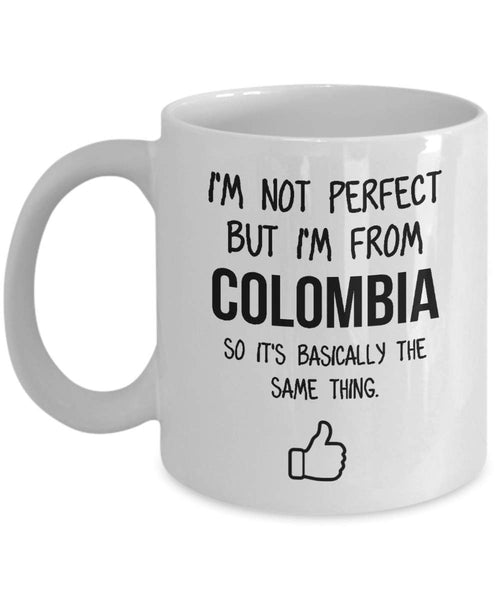 Colombia Mug Country Hometown Gift For Friends Dad Home Country Mug Wife Gift Husband Coffee Mug -11oz