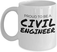 Proud to be a Civil Engineer Coffee Mug 28/14 J