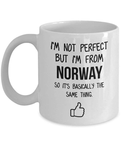 Norway Mug Country Hometown Gift For Friends Dad Home Country Mug Wife Gift Husband Coffee Mug -15oz