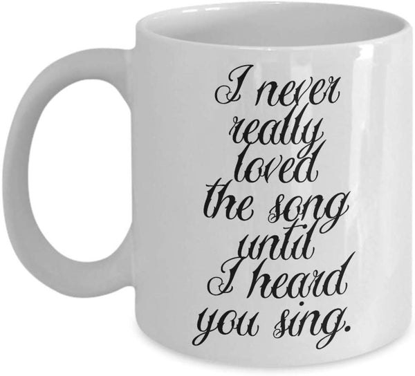 Great Singer Special Song Voice Sounds Coffee Mug Gift Present Ideas Tea Cup Cafe Drinkware Ceramic for Musician Composer 29/29 joed