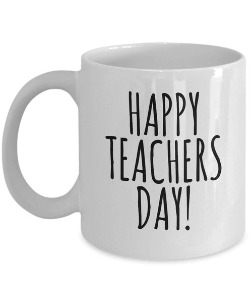 Happy Teacher Day Coffee Mug 27/7 J