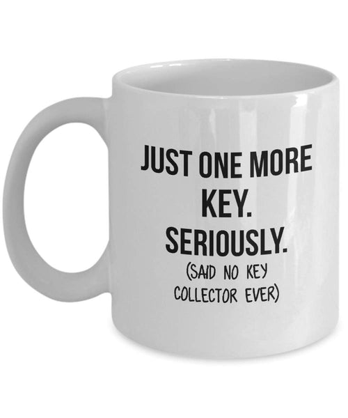 Key Collector Mug Mom Collection Gift Funny Collector Gift For Friends Dad Mug Collector Wife Gift Husband Coffee Mug - 15oz