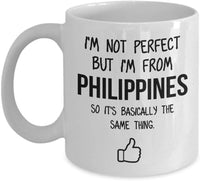 Philippines Mug Country Hometown Gift For Friends Dad Home Country Mug Wife Gift Husband Coffee Mug -11oz
