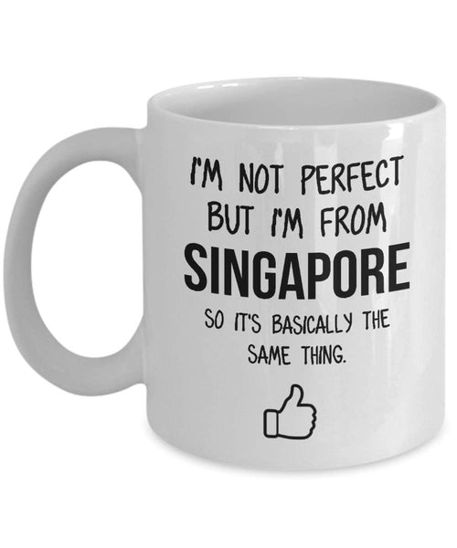 Singapore Mug Country Hometown Gift For Friends Dad Home Country Mug Wife Gift Husband Coffee Mug -15oz