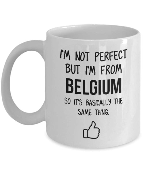 Belgium Mug Country Hometown Gift For Friends Dad Home Country Mug Wife Gift Husband Coffee Mug -15oz