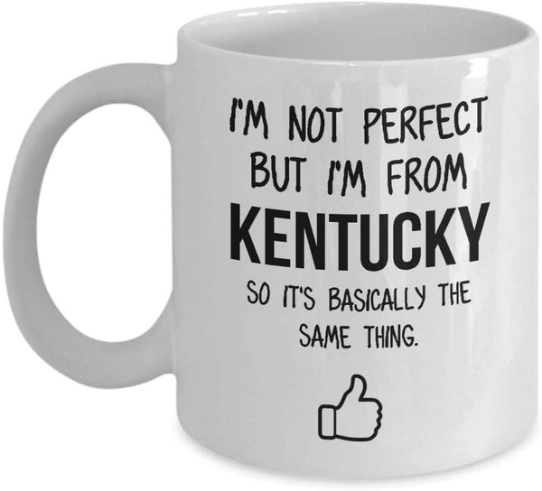 Kentucky Mug Dad Gift Funny State Mug Gift For Friends Mom Gift City Hometown Mug Work Pals Mug Bff Gift -15oz