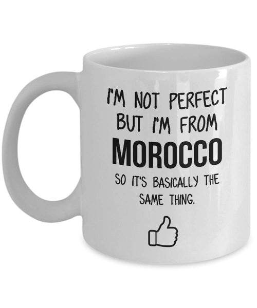 Morocco Mug Country Hometown Gift For Friends Dad Home Country Mug Wife Gift Husband Coffee Mug -15oz