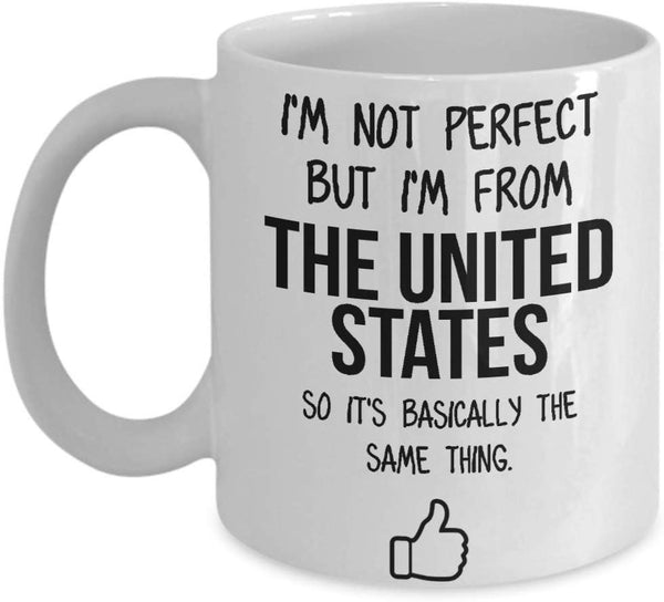 United States Mug Country Hometown Gift For Friends Dad Home Country Mug Wife Gift Husband Coffee Mug -15oz