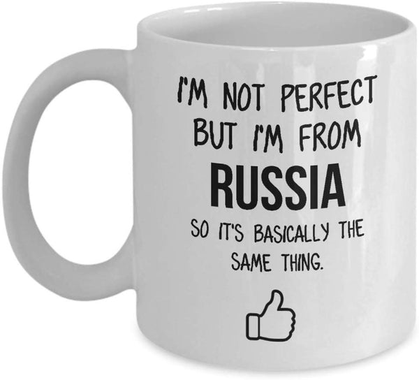 Russia Mug Country Hometown Gift For Friends Dad Home Country Mug Wife Gift Husband Coffee Mug -15oz