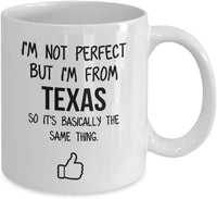 Texas Mug Dad Gift Funny State Mug Gift For Friends Mom Gift City Hometown Mug Work Pals Mug Bff Gift -15oz
