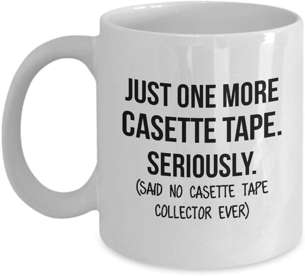 Casette Tape Collector Mug Mom Collection Gift Funny Collector Gift For Friends Dad Mug Collector Wife Gift Husband Coffee Mug - 15oz