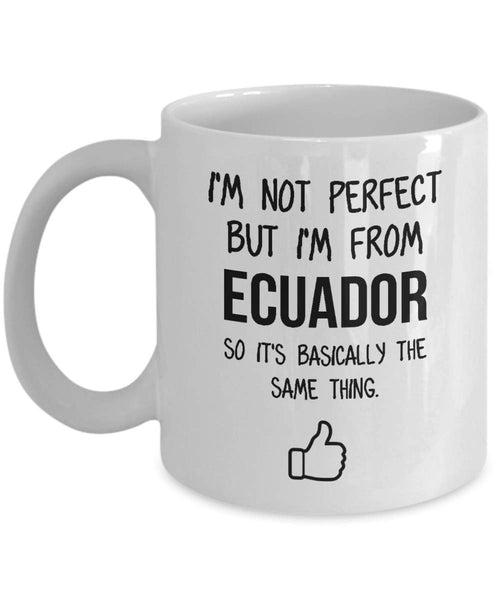 Ecuador Mug Country Hometown Gift For Friends Dad Home Country Mug Wife Gift Husband Coffee Mug -11oz
