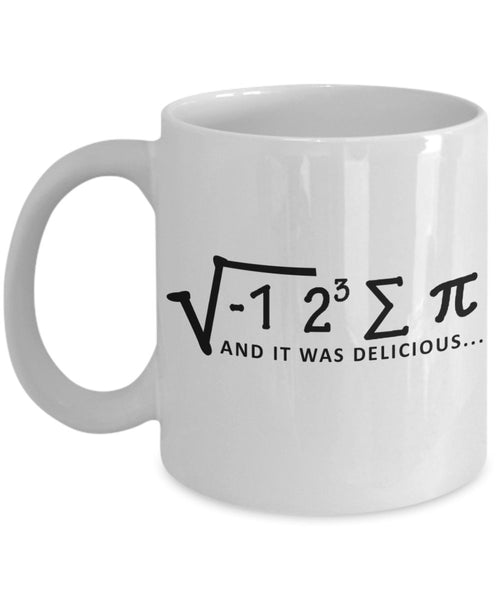Maths Sarcasm Gift Mug for the Math Teacher 3/4