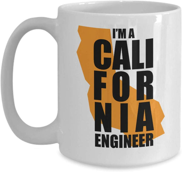 I'm a California Engineer Coffee Mug 28/6 J