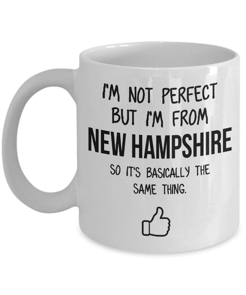 New Hampshire Mug Dad Gift Funny State Mug Gift For Friends Mom Gift City Hometown Mug Work Pals Mug Bff Gift -11oz