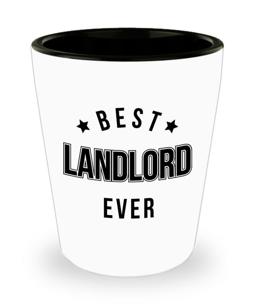 Landlord New Gifts Best Lanlord Ever Shot Glass 4/9d J